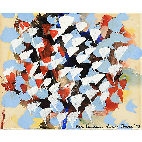 Abstract By Roger Barr, 1958
