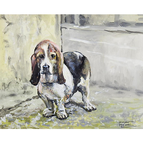 Basset Hound by Simon Michael