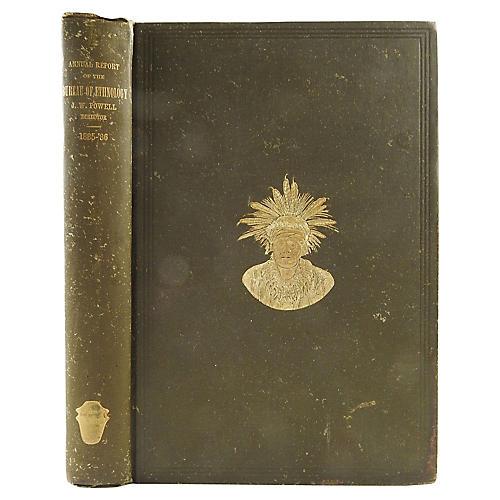 1885-1886 Ethnology Report Smithsonian