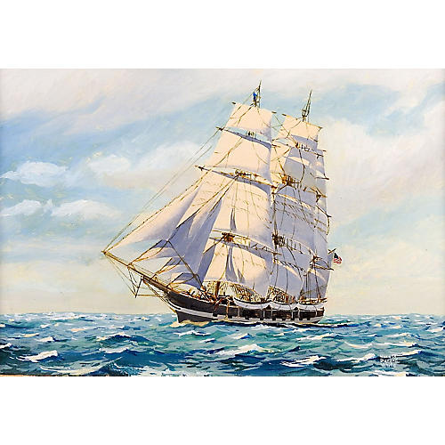 New Bedford Whaler by Harold D. White