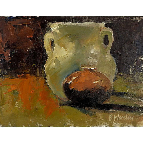 Pottery Still Life by B. Woosley