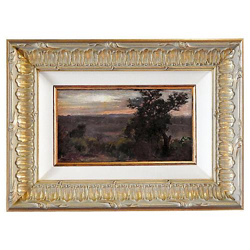 Robert Onderdonk Sunrise Landscape