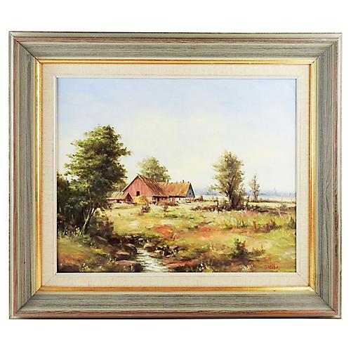 Swedish Pastoral Landscape