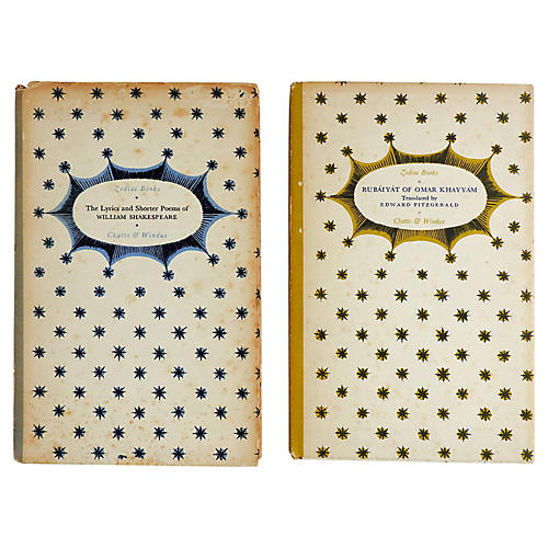 1930s Small Poetry Books, Pair