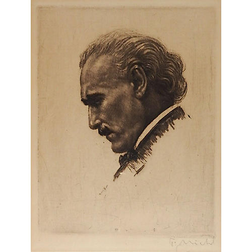 Lithograph Portrait