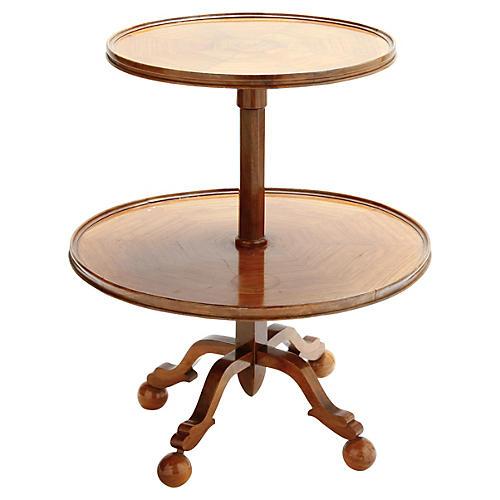 Austrian Wood Table, C. 1920