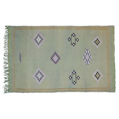 Moroccan Cactus Silk, 4'11'' x 3'2''