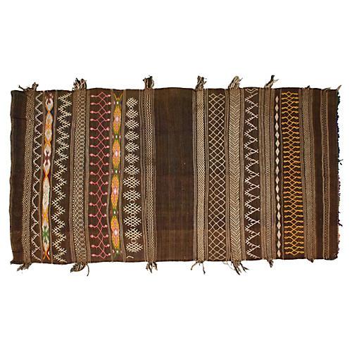 Moroccan Rug, 7' x 3'10''