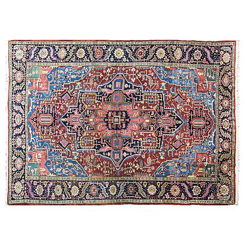 """Persian Rug, 8'4"""" x 11'7"""""""