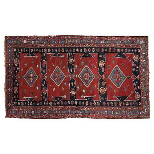 "Antique Caucasian Karabagh, 12'4"" x7'1"""