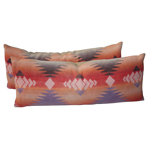 Pendleton Bolster Pillows, Pair