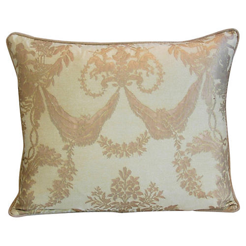 Italian Fortuny Boucher Pillow
