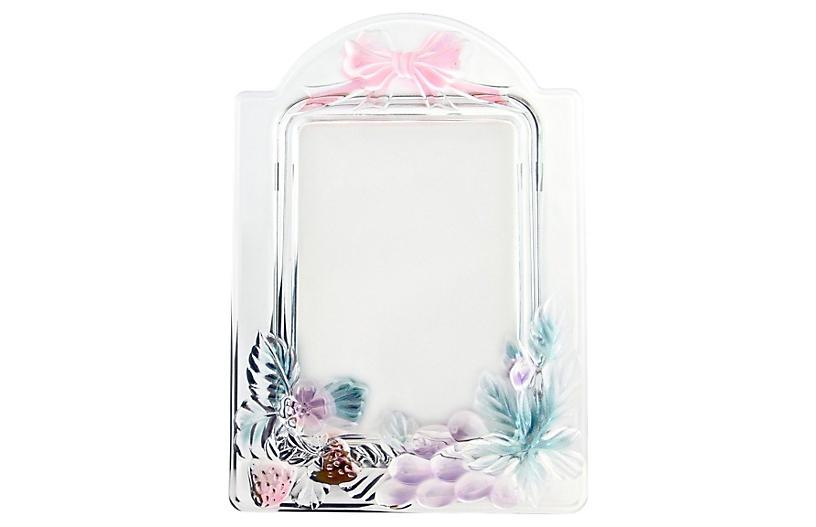 Pink & Blue Pastel Glass Frame