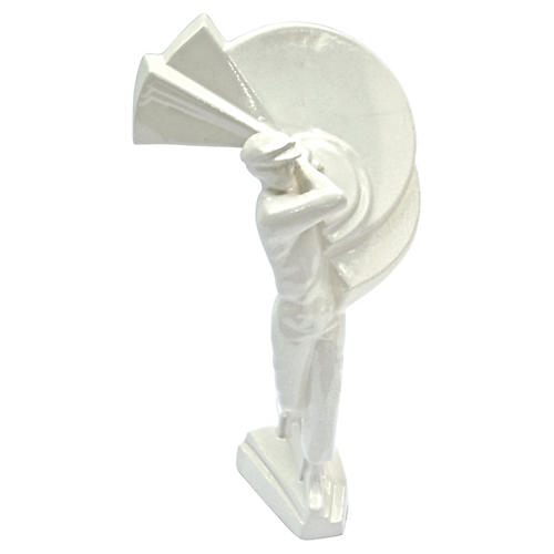 Art Deco Ceramic Golfer Figurine