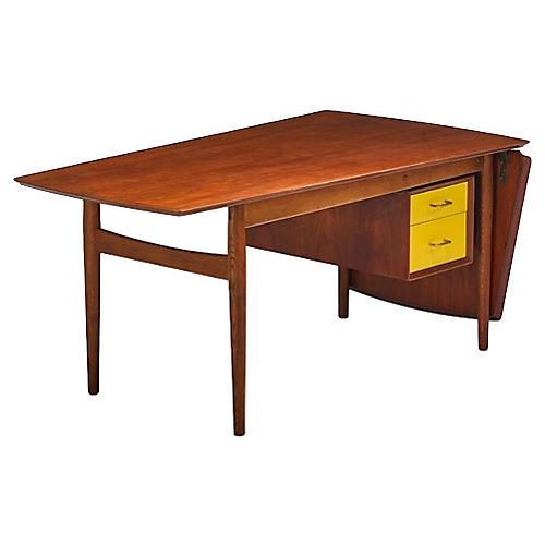 Mid-Century Modern A. Vodder Sibast Desk
