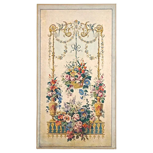 Ant Aubusson Tapestry Wall Panel