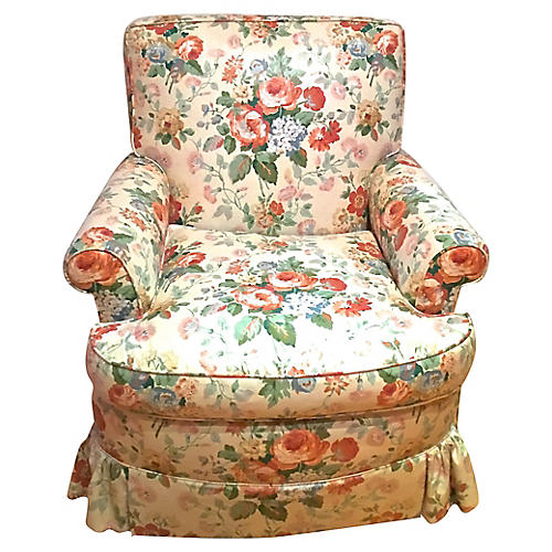 Colefax & Fowler Floral Chintz Chair