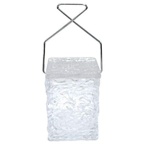 Midcentury Lucite Ice Bucket