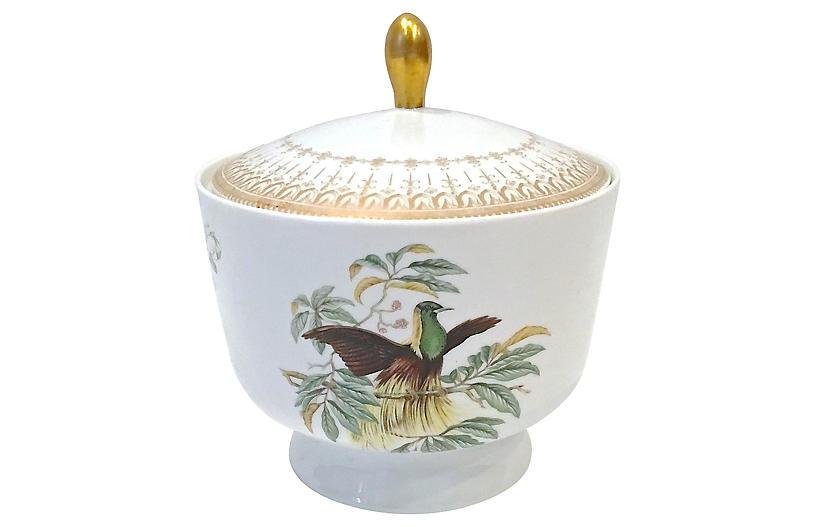 Mottahedeh Birds of Paradise Jar