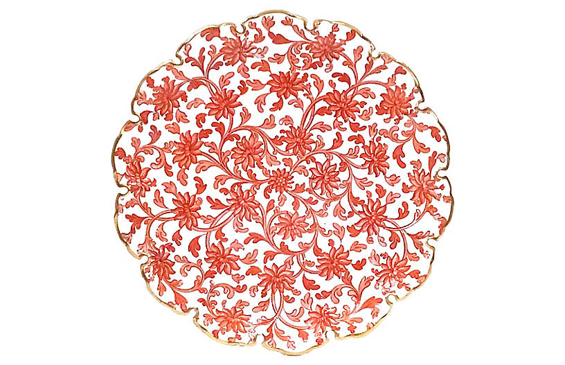 Copeland Floral Porcelain Plate