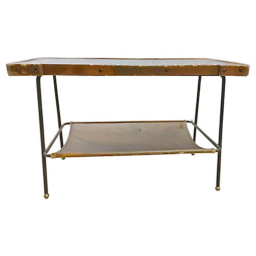 Jacques Adnet Mid-Century Modern Table