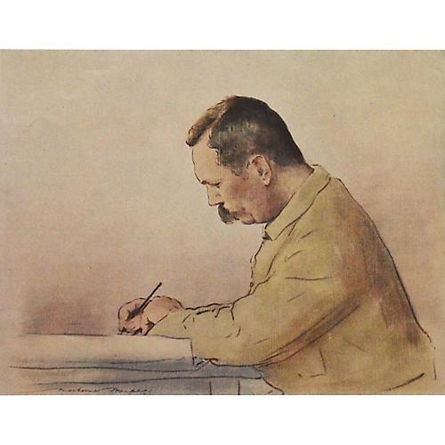 Arthur Conan Doyle by M.Menpes, 1901