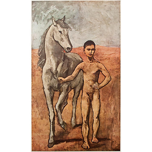 Boy Leading a Horse by Picasso, 1954