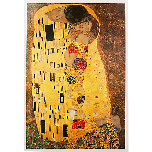 Klimt The Kiss Poster, 1994