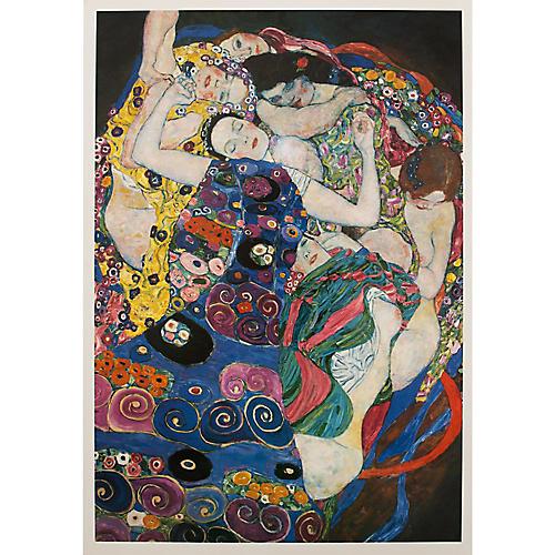 Klimt The Maiden Poster, 1994