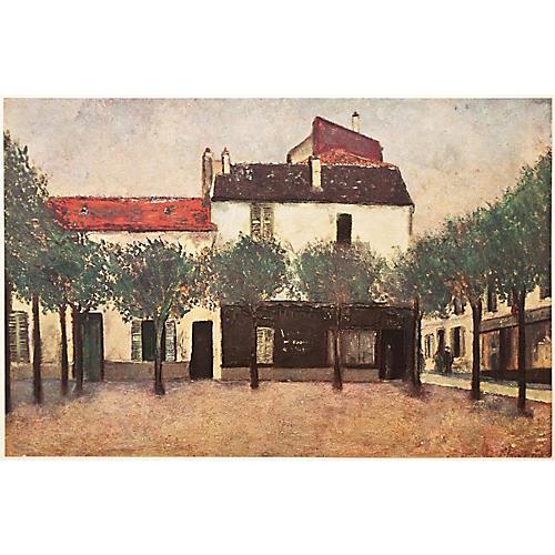 Maurice Utrillo Place De Montigny, 1947
