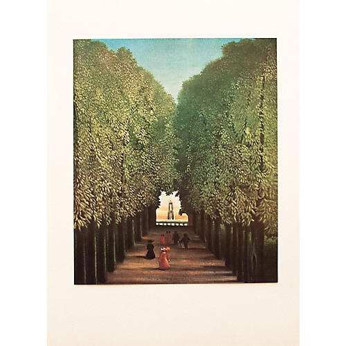 Rousseau The Alley Photogravure