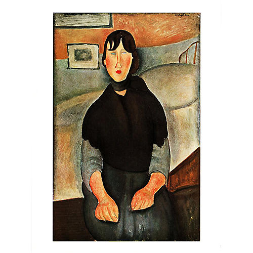Modigliani Young Daughter of the People