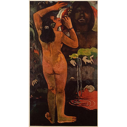 1950s Gauguin, The Moon & the Earth