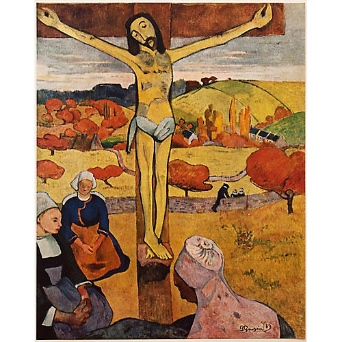 1950s Gauguin, The Yellow Christ