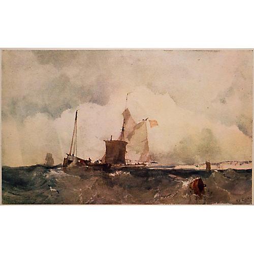 Before the English Coast, R.P. Bonington