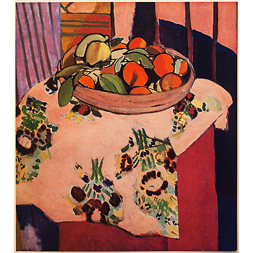 1940s Oranges by Matisse