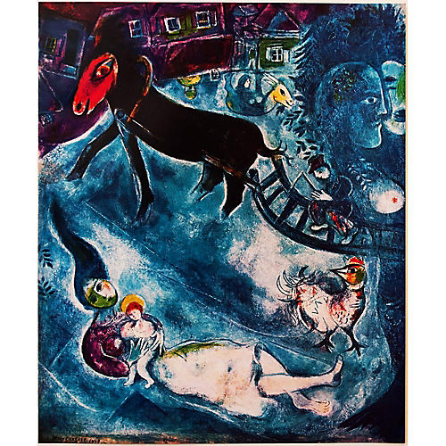 Chagall, Madonna & the Sledge