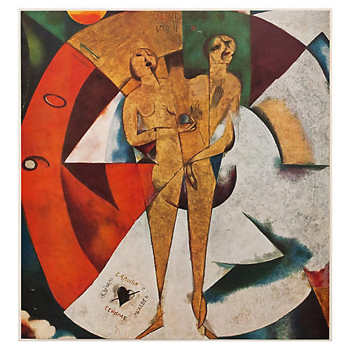 1940s Chagall, Homage to Apollinaire