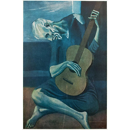 Picasso Old Guitarist, 1st Ed.