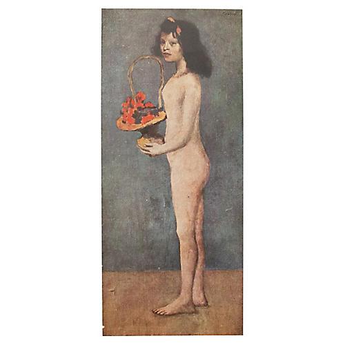 Picasso Original Lithograph, COA