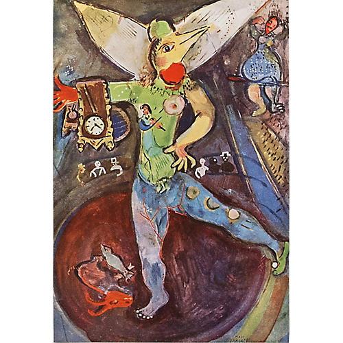 1947 Chagall L'Arcobate w/ COA