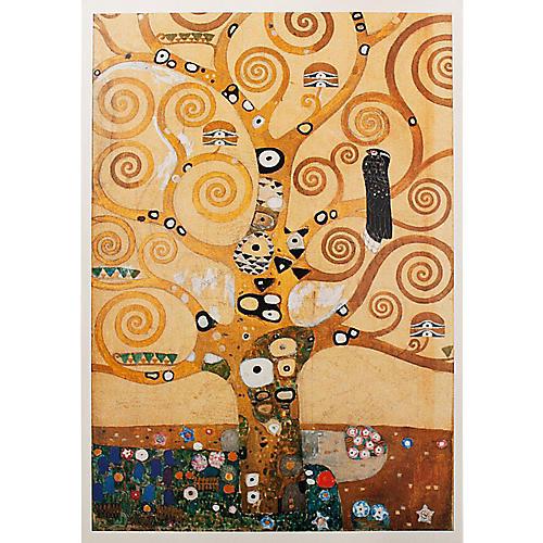 Klimt Tree of Life Poster, 1994