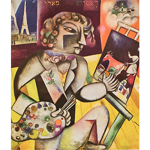 Chagall, Self-Portrait w/ 7 Fingers