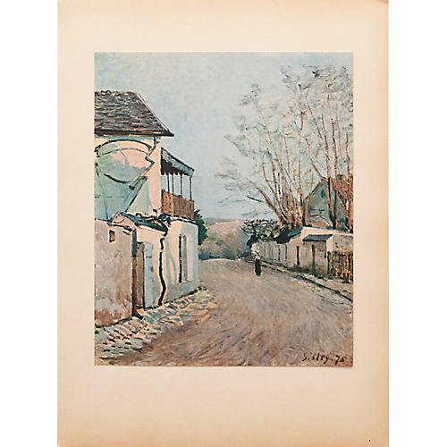 1930s Sisley, The Route of the Princess