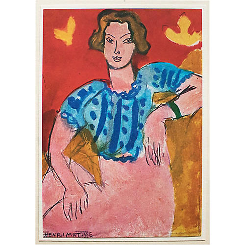 1940s Henri Matisse, Young Woman