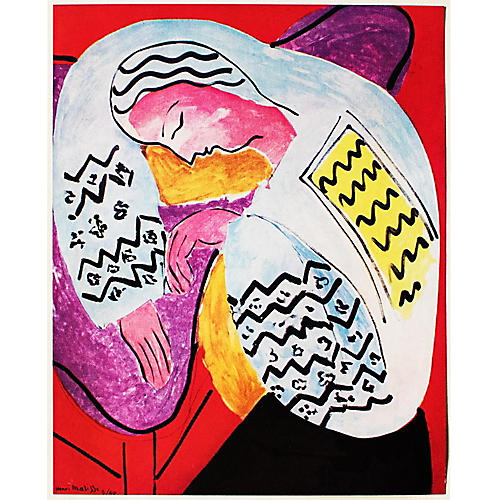 1940s Henri Matisse, The Dream