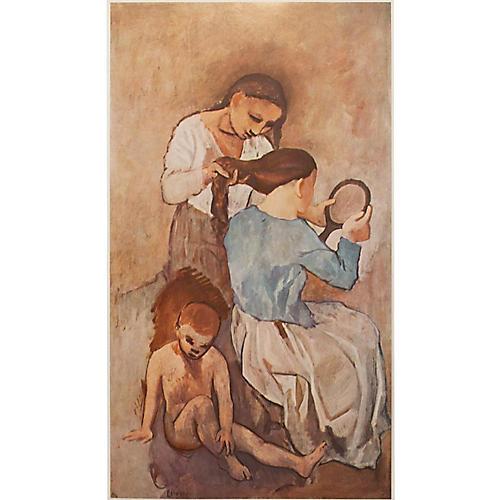 Pablo Picasso La Coiffure, 1st Ed.