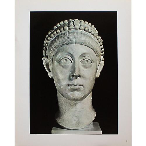 Emperor Arcadius Photogravure, C. 1940