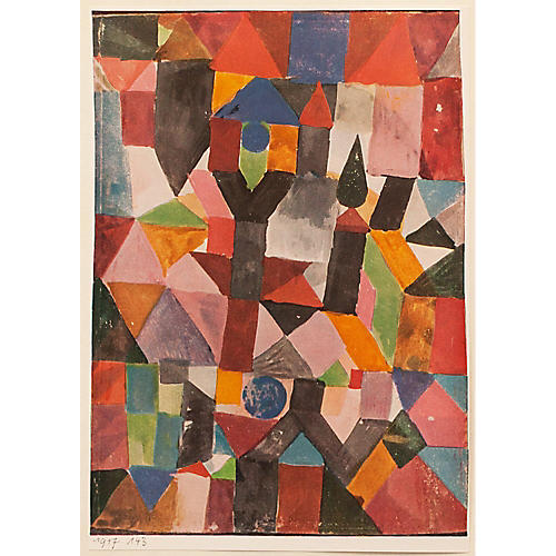1955 Paul Klee, Invention