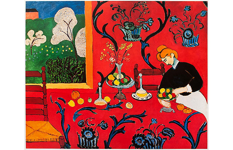 Henri Matisse, Harmony in Red